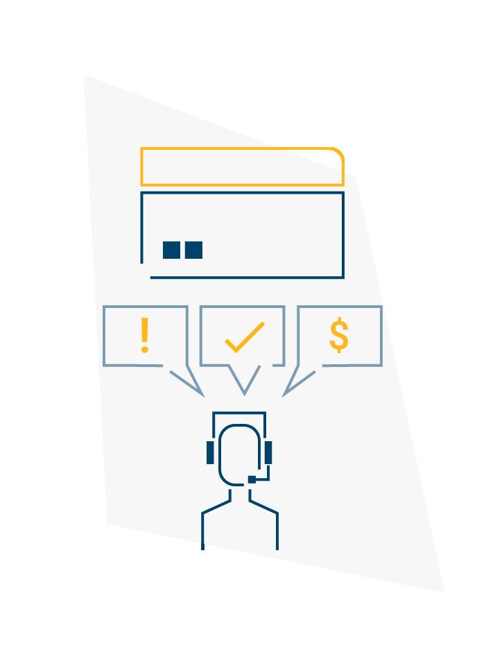 Credit Card Servicing Illustration