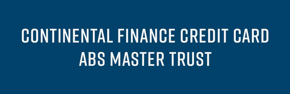 Continental Finance Credit Card